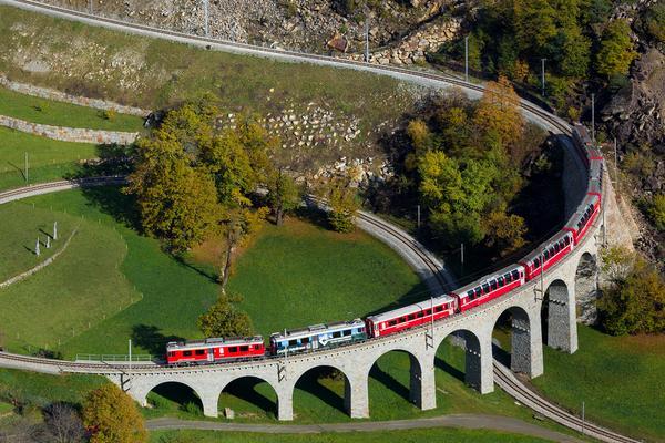 Il Trenino Rosso del Bernina!