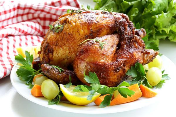 Menù completo di pollo per due!