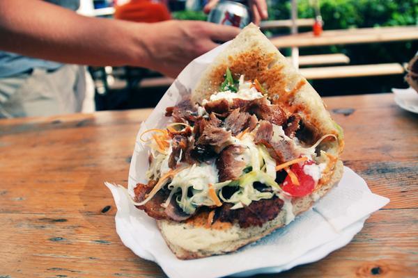 Menù panino kebab di coppia!