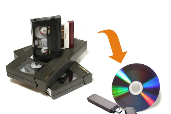 Riversa i tuoi video su DVD e USB key!