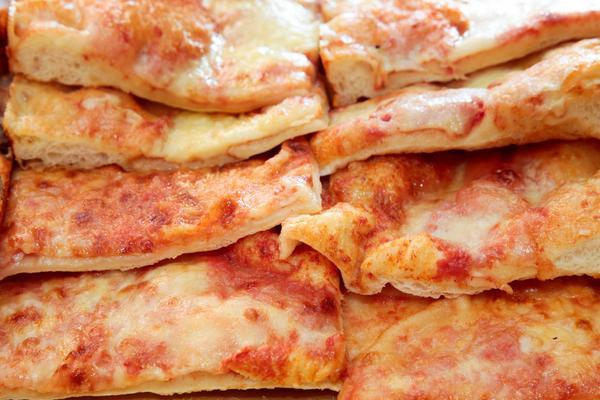 1/2 Teglia di pizza in offerta!
